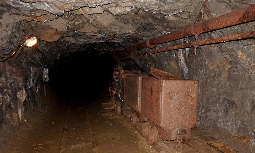 Ein altes Bergwerk