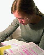 lernendes Mädchen
